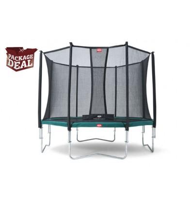 BERG Trampolin Package Deal 430cm Favorit inkl. sikkerhedsnet Comfort