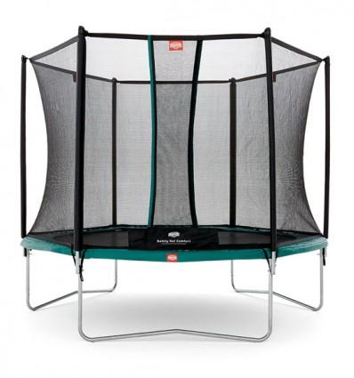 ✓ BERG Trampolin 300cm Talent inkl. sikkerhedsnet Comfort