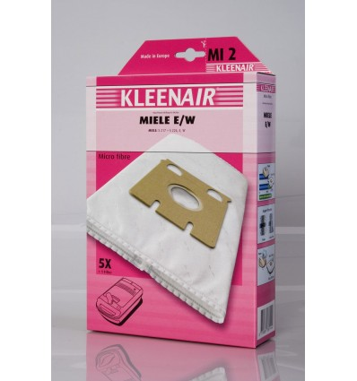 Kleenair MI 2 Støvsugerpose Miele E, W (Microfibre)