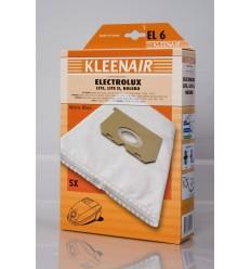 Kleenair EL 6 Støvsugerpose Electrolux Lite, Lite II, Bolero (Microfibre)