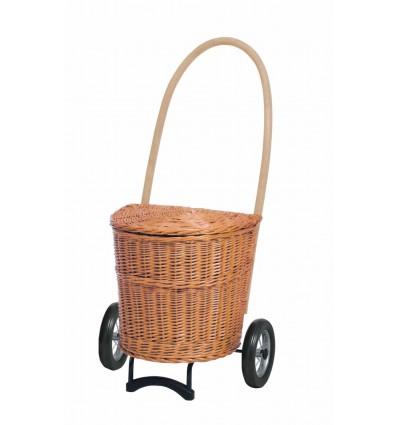 Kurv Shopper Natura Creme - Andersen Inkøbsvogne Med Hjul
