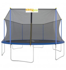 Trampolin 460cm med sikkerhedsnet